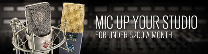 Affordable Studio Mics from Neumann, Shure, Audix and Sennheiser