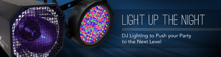 DJ Lighting to Push Your Party to the Next Level