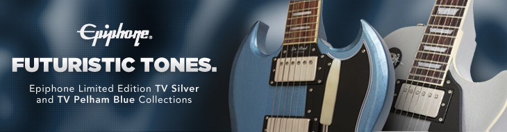Epiphone TV Silver and TV Pelham Blue Collections