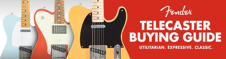 Buying Guide: Fender Telecasters