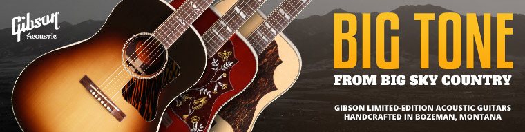 Gibson Montana Limited-Edition Acoustic Guitars