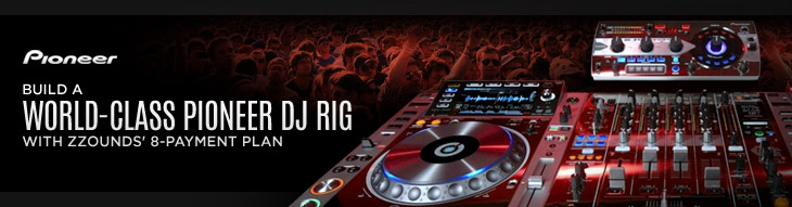 Build a Pioneer DJ Rig with zZounds' 8-Payment Plan