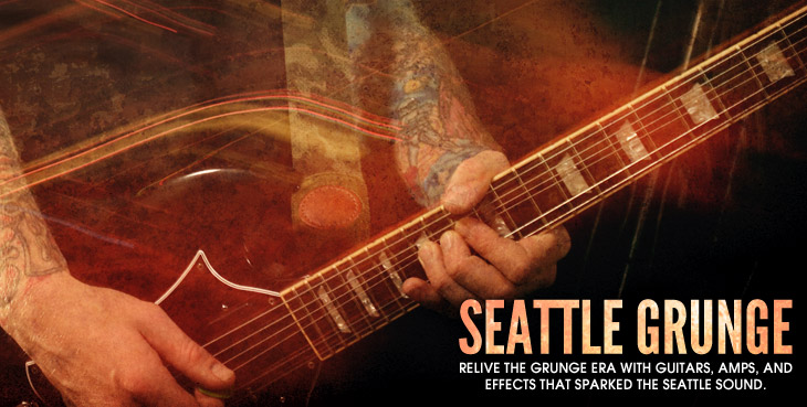 Road Map to Seattle Grunge