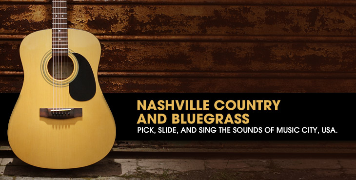 Road Map to Nashville Country and Bluegrass