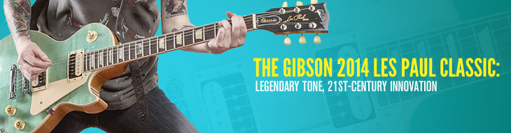 The Gibson 2014 Les Paul Classic