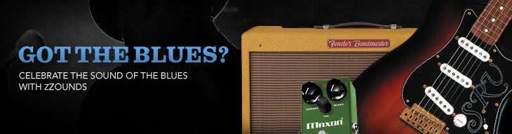 Play the history of the Blues with these essential blues guitars and amplifiers!