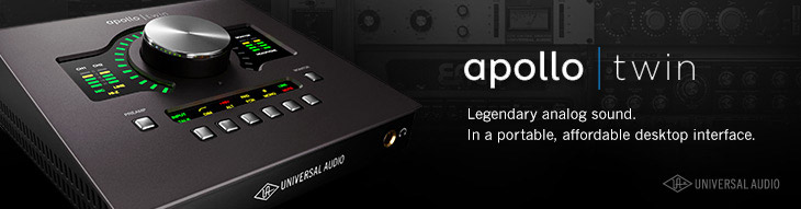 Universal Audio Apollo Twin Audio Interfaces