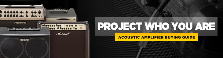 Plug into these acoustic amplifiers and project your voice and playing with one amp!