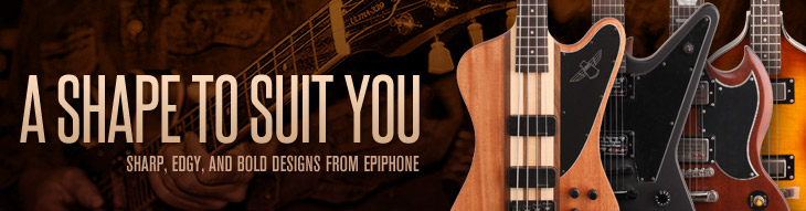 Epiphone has a shape to suit you