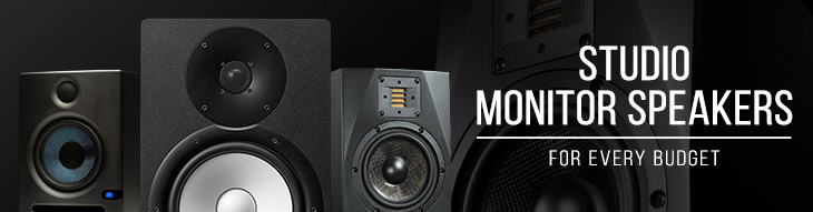 Studio monitors for every price range.