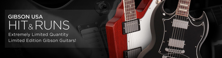 Gibson USA Hit & Run Limited Edition Guitars