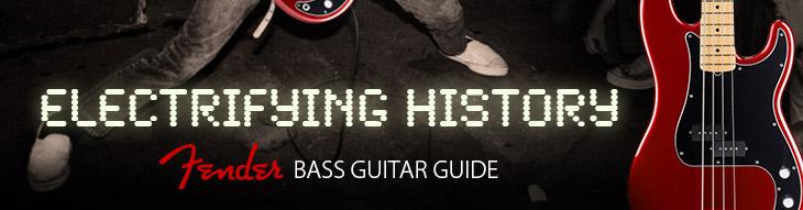 Fender Bass Guitar Guide