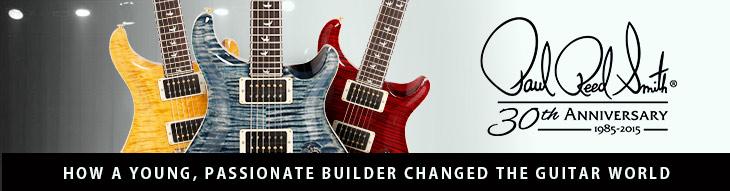 PRS 30th Anniversary Custom 24 Guitars