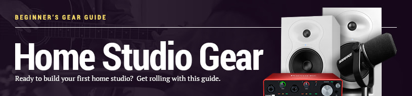 Beginner's Gear Guide: Home Studio