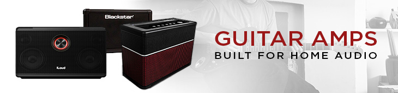 Home Audio Guitar Amps: IK Multimedia iLoud, Blackstar FLY 3, Line 6 AMPLIFi 75