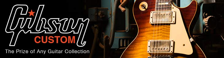 Gibson Custom Electric Guitars