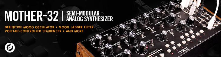 Mother-32 semi-modular analog synthesizer