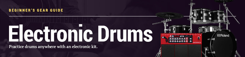Beginner's Gear Guide: Electronic Drums