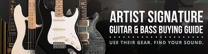 zZounds Buying Guide: Artist Signature Guitars, Basses and More!