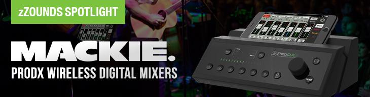 Mackie ProDX8 & ProDX4 mixers