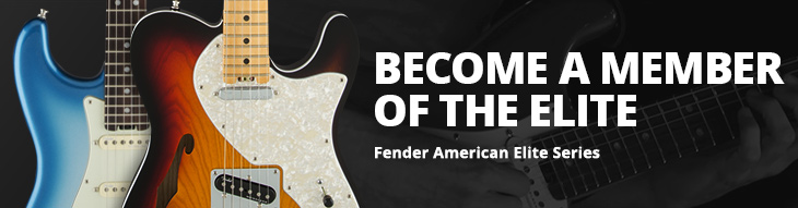 Fender American Elite Guitars + Basses