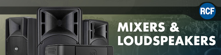 RCF Mixers & Loudspeakers