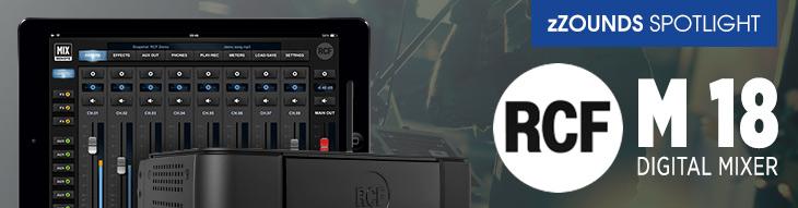 RCF M 18 Wireless Digital Mixer | zZounds Spotlight