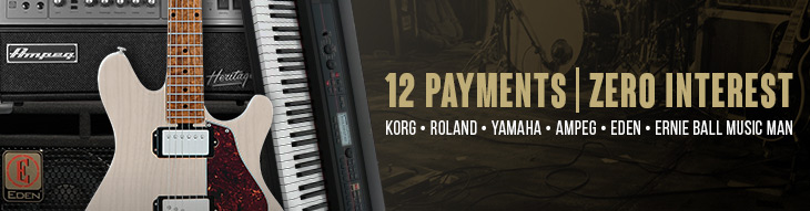 Pop-up Payment Plan for Korg, Roland, Yamaha, Ampeg, Eden and Music Man