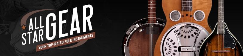 All-Star Gear: Folk Instruments
