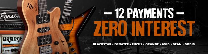 Pop-up Payment Plan for Orange, Avid, Fuchs, Blackstar, Egnater and more!