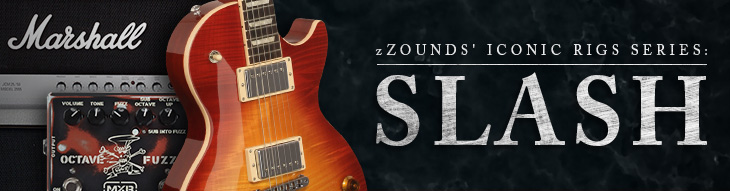 zZounds' Iconic Rigs: Slash