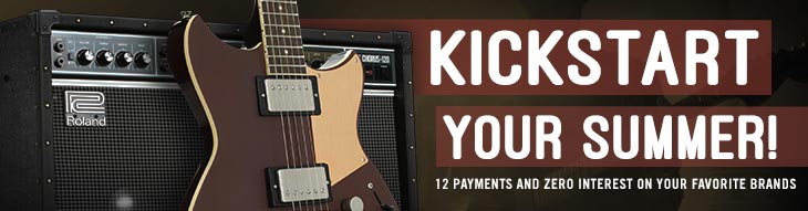 Pop-up Payment Plan for Roland, Yamaha, Korg, Ampeg, and More!