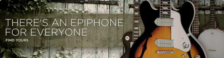 There's an Epiphone for everyone. Find yours.