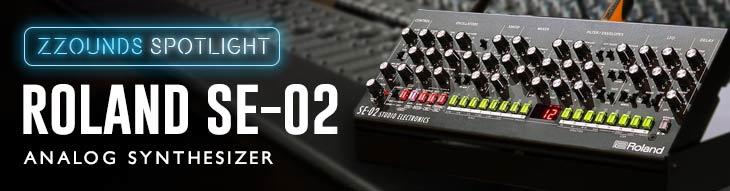 Roland SE-02 analog synthesizer