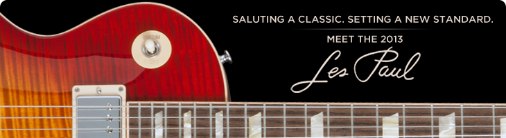 Meet the 2013 Les Pauls