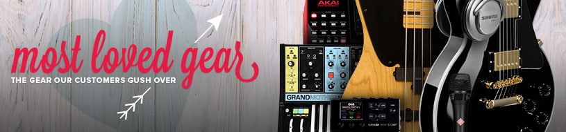 Most Loved Gear: What zZounds customers are crazy about.