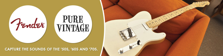 Learn more about the Fender American Vintage '58 Telecaster
