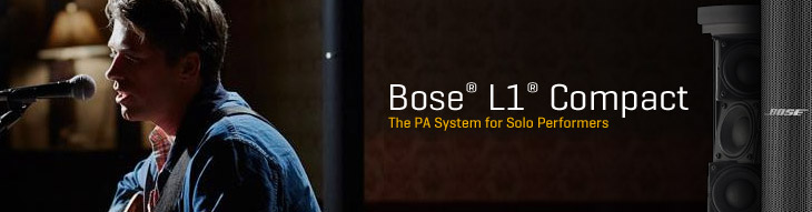 Bose L1 Compact: The solo performer's PA system