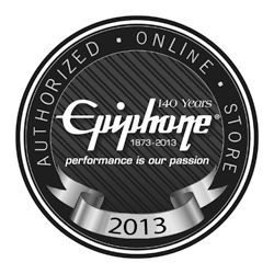 zZounds is an authorized dealer of Epiphone Electric Guitars