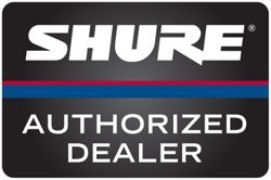 zZounds is an authorized dealer of Shure Instrument Wireless and Components