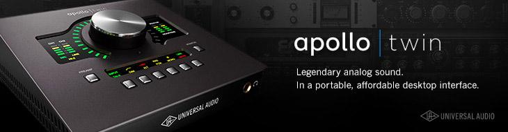 Universal Audio Apollo Twin Desktop Interfaces | zZounds