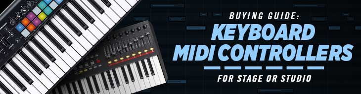 MIDI Keyboard Controllers Buying Guide | zZounds