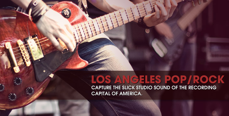 Road Map to Los Angeles Pop/Rock Recording Scene