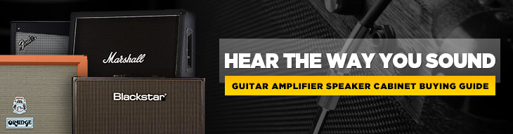 Whether you go full blast with a 4x12 cabinet or a single speaker, these amp cabs rule!