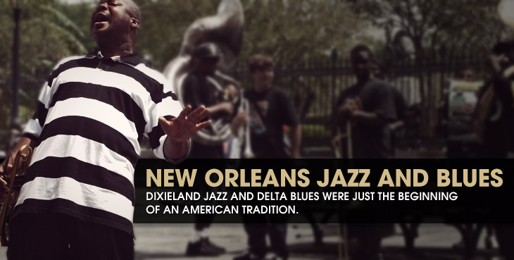 Road Map to New Orleans Jazz and Blues