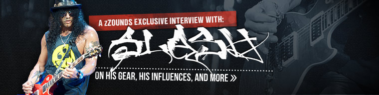 zZounds Exclusive Interview with Slash