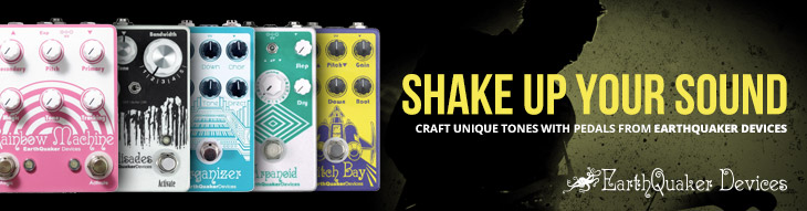 Stomp on some powerful tone with EarthQuaker Devices