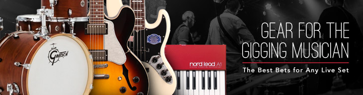 Handpicked recommendations of gear by Fender, Eden, Gibson, Roland, Zildjian, and more!