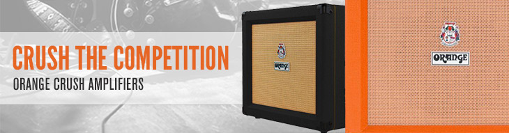 Orange Crush Amplifiers: Crush the Competition