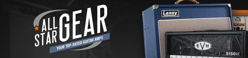 Top guitar amps from Fender, Marshall, Orange, Peavey, EVH and more!